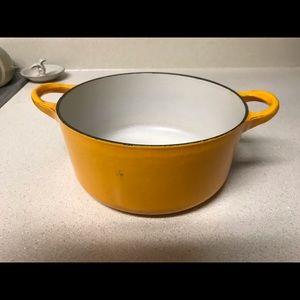 Le Creuset Yellow Dutch Oven